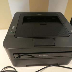 Lot # 89- Brother compact laser printer