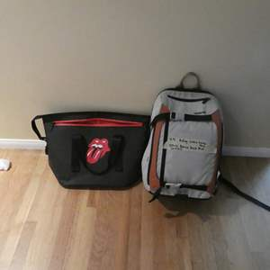 Lot # 92-Gravis ice chest back pack and rolling stone ice chest bag