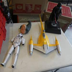 Lot # 336-  Star Wars action figures
