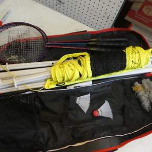 Lot # 338- badminton set