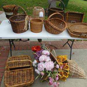 Lot # 347- Baskets, baskets and more baskets