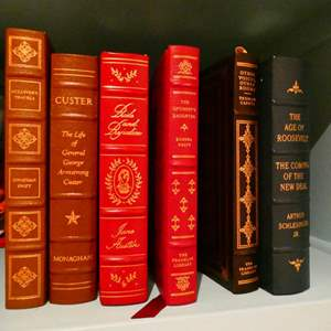 Lot # 100- Vintage books