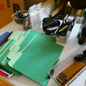 Lot # 106- Office supplies! Everything your office needs