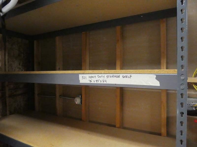 Lot # 501-sturdy storage shelf (main image)