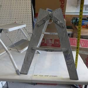 Lot # 505-2 step ladders