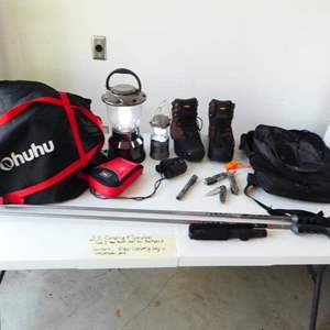 Lot # 211-Camping and Survival kit