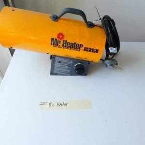 Lot # 225-Mr. Heater contractor series