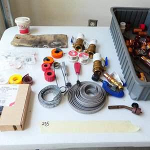 Lot # 235-soldering kit
