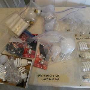 Lot # 292-light bulbs - totally lit!