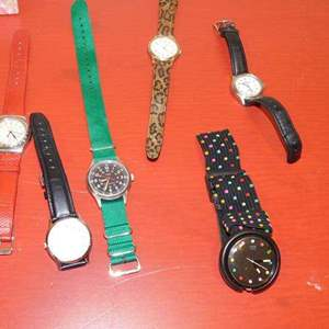 Lot # 386- Assorted cool watch collection