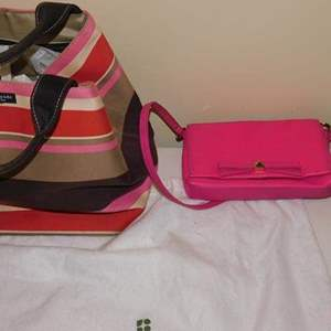 Lot # 395-Kate Spade hand bags- gently used