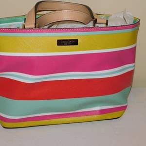 Lot # 400-Kate Spade handbag-cute, bright colors!