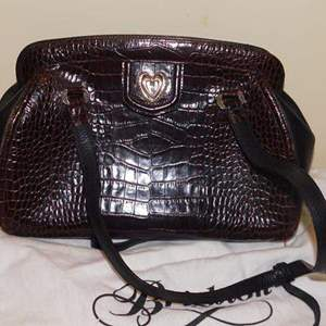Lot # 408-Brighton hand bag, brown gater. Gently used
