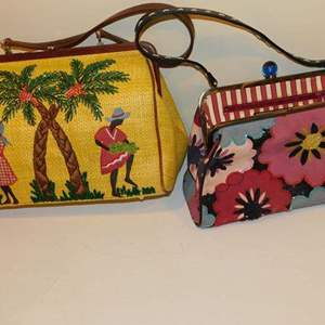 Lot # 412- 2 Isabella Fiore hand bags! CUTE