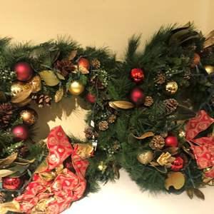 Lot # 356 5 bins of Christmas decorations!