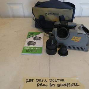 Lot # 288 Drill doctor/ drill bit sharpener