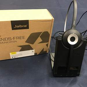 Auction Thumbnail for: Lot # 141- JABRA Wireless head set ! Several Hands free phone calls for your business.