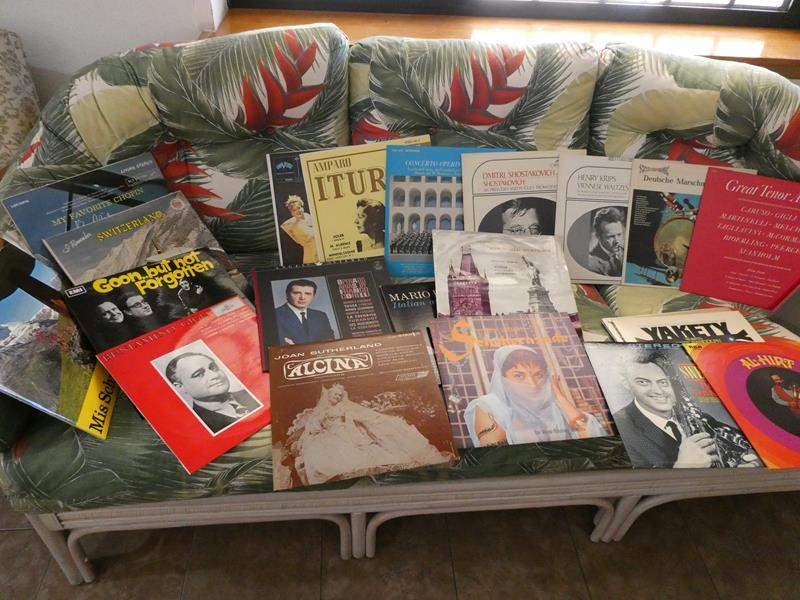 Lot # 232- Vinyl albums-collection from around the world (main image)