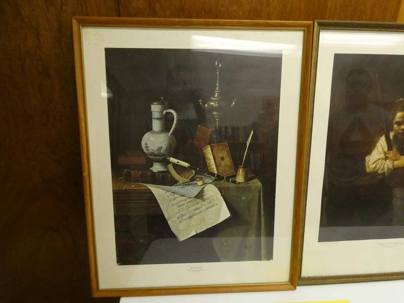 Lot # 245- 2  Framed art, William M. Harnett 1848-1892 (main image)