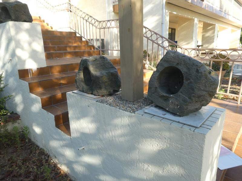 Lot # 302-Rock planters (main image)