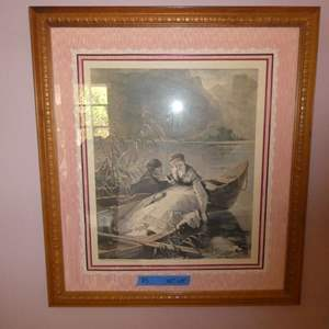 Lot # 113- Several paintings and art- see all pictures! (Front living room)