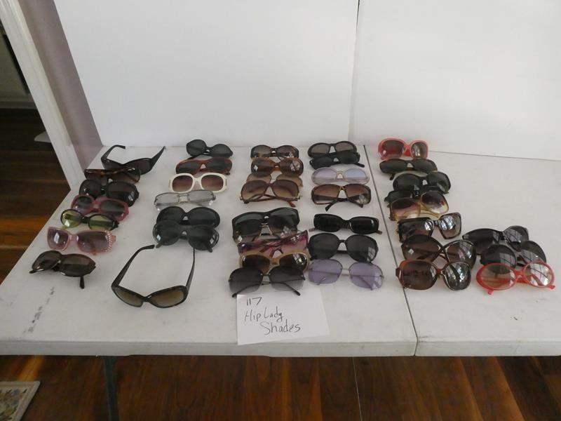 "Lot # 117- Designer ""hip"" lady shades! (main image)"