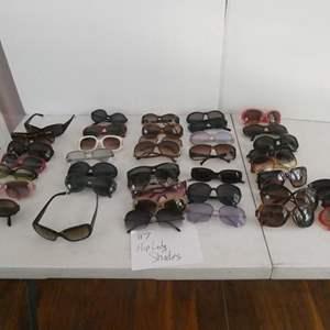 "Lot # 117- Designer ""hip"" lady shades!"
