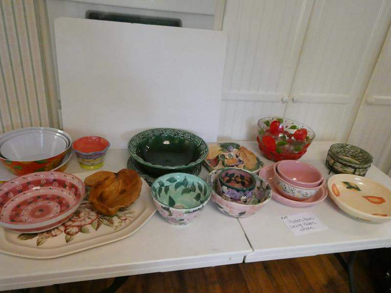 Lot # 29- Platters, bowls, serving platters and so much more! (main image)