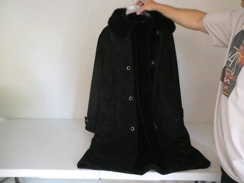 Lot # 135- Women's coat, Dana Buchman, size L (main image)