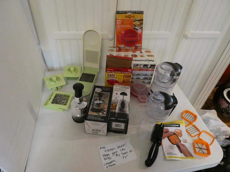"""Lot # 32- KITCHEN STUFF!  """"As seen on TV"""" items! make your life easy! (main image)"""