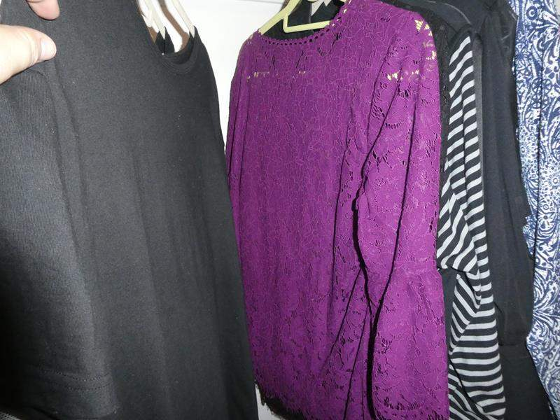"""Lot # 141- Variety of women's clothing. Lots of """"Susan Graver"""" variety of sizes (main image)"""