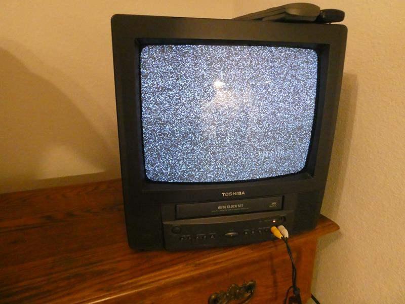 Lot # 147-Toshiba TV/VCR combo. (tested) (main image)