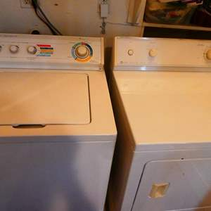 Lot # 50- Washer and dryer (working)