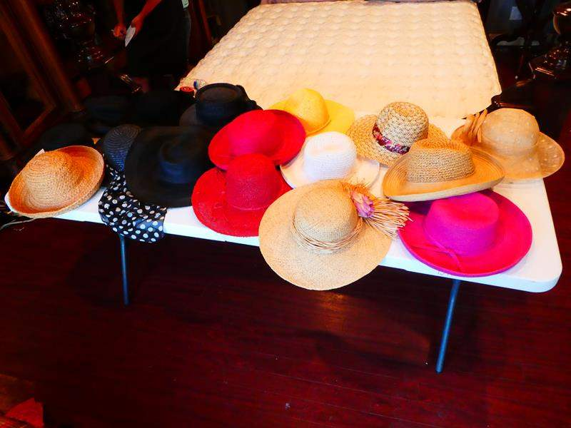 Lot # 211-Hats off to Hats. Hats, Hats and more Hats.   So cute! (main image)