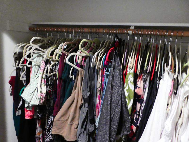 """Lot # 212-Ladies Clothes (mostly medium), some tags on, """"women control"""" all pants and leggings. (main image)"""