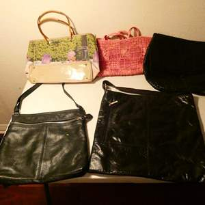 Lot # 160-5 handbags (lightly used)