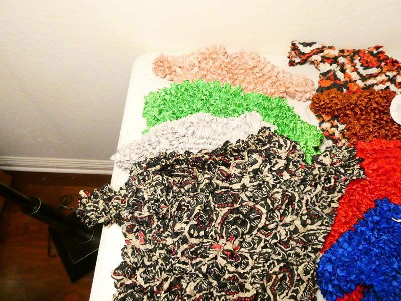 Lot # 161-Women's clothing, crinkle shirts -8, sweatshirts, v necks, hat, tank tops (main image)