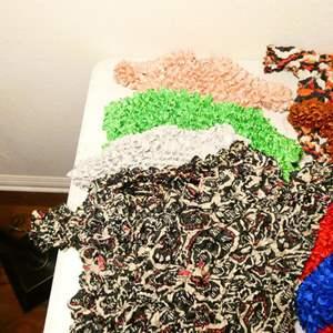 Lot # 161-Women's clothing, crinkle shirts -8, sweatshirts, v necks, hat, tank tops
