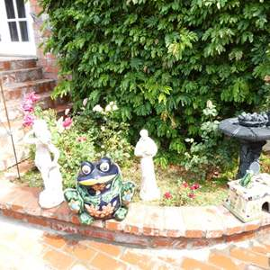Lot # 314-Must see yard art.