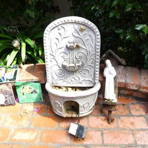 Lot # 315-Must see miscellaneous yard art and statues.