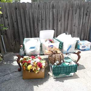 Lot # 326-EVERY holiday decor, approximately 10 boxes