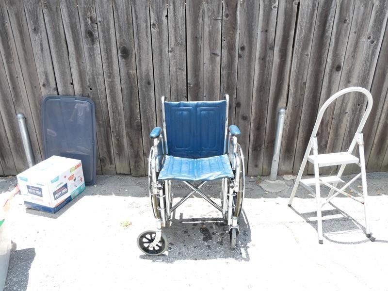 Lot # 332-Wheel chair (main image)