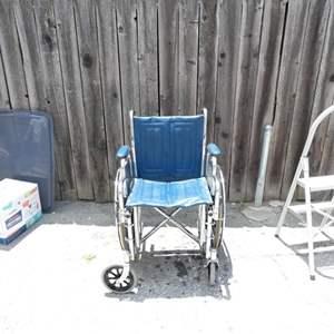 Lot # 332-Wheel chair