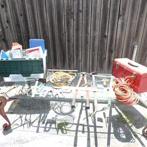 Lot # 337-Wow what a lot of miscellaneous tools.