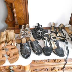 Lot # 222-Sexy sandal collection size 7-8