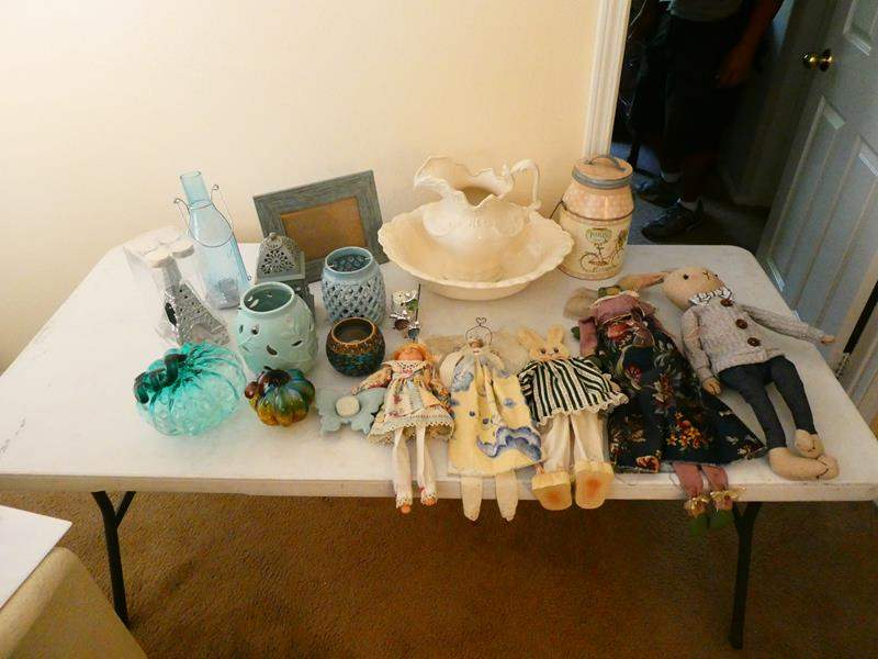 Lot # 142-Vintage dolls, candles and decorations (main image)