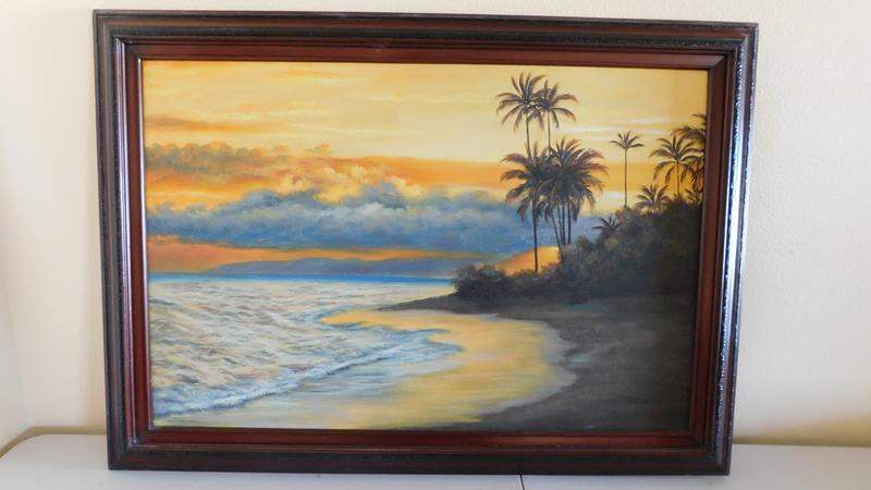Lot # 82-Beautiful beach picture  (main image)