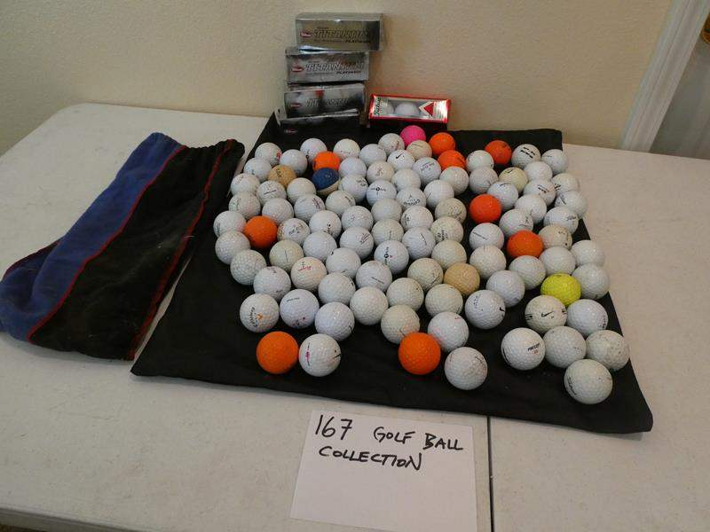 Lot # 167-Golf ball collection (main image)