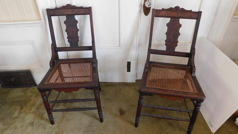 Lot # 6- Two set Vintage Chairs (main image)