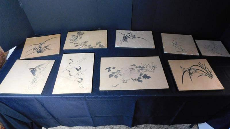 Lot # 41- Vintage Oriental Lithographs (main image)